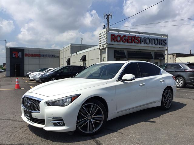 2015 INFINITI Q50 LTD AWD - NAVI - 360 CAMERA - SUNROOF in Oakville, Ontario