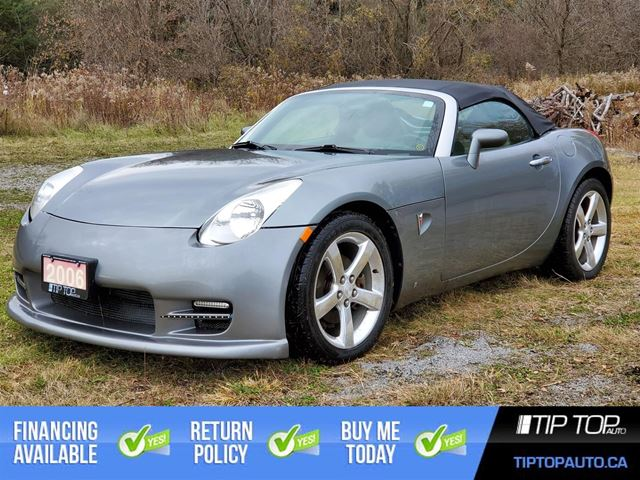 2006 PONTIAC Solstice ** Manual, Soft Top, Low Km ** in Bowmanville, Ontario