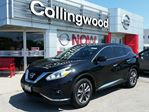 2016 Nissan Murano SV FWD *1 OWNER* in Collingwood, Ontario