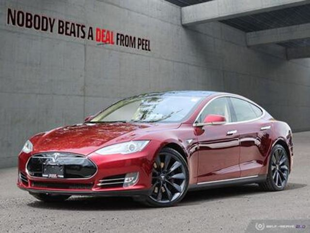 2012 TESLA MODEL S P85 Signature, NEW EV Tires, Roof, Pwr Hatch, 80AM in Mississauga, Ontario