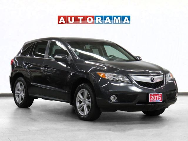 2015 Acura RDX Tech Pkg 4WD Navigation Leather Sunroof Backup Cam in North York, Ontario