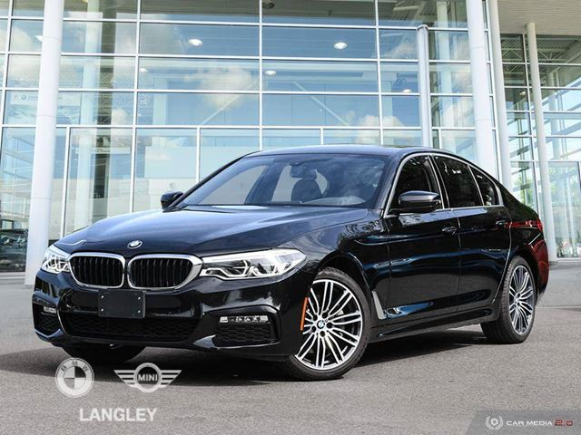 2018 BMW 5 Series 530i xDrive in Langley, British Columbia
