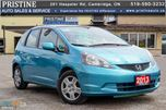 2013 Honda Fit LX 5-Speed MT Only 105km Hatch. Bluetooth Accident & Rust Free  in Cambridge, Ontario