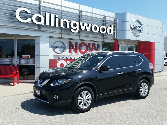 2016 NISSAN Rogue SV AWD TECH *1 OWNER* in Collingwood, Ontario