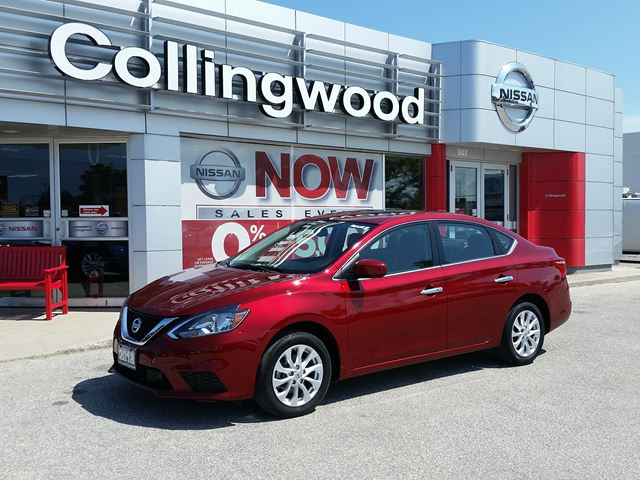 2018 NISSAN Sentra SV TECH *1 OWNER* in Collingwood, Ontario