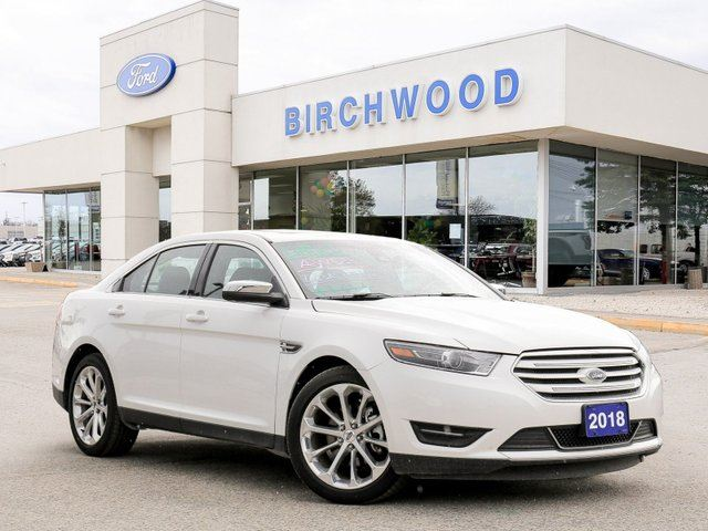 2018 FORD Taurus Limited Loaded | Clean Car Fax | Nav | Sunroof in Winnipeg, Manitoba