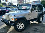 2004 Jeep Wrangler TJ Sport 4x4 5spd Hardtop/Softtop Convertible  in St Catharines, Ontario