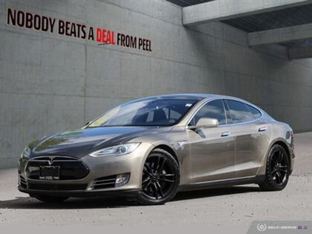 2015 TESLA MODEL S 70D, Autopilot, Roof, SUMMON, Hatch, SubZero, EV in Mississauga, Ontario