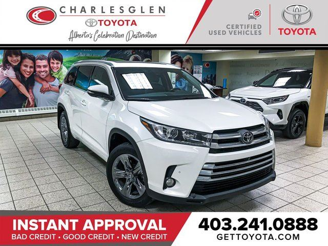 2018 TOYOTA Highlander Limited in Calgary, Alberta