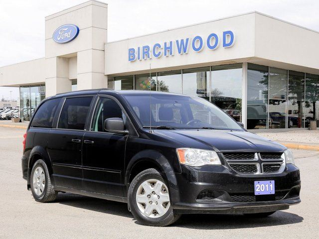 2011 DODGE Grand Caravan SE Low KMs | Rear AC | Traction Control in Winnipeg, Manitoba