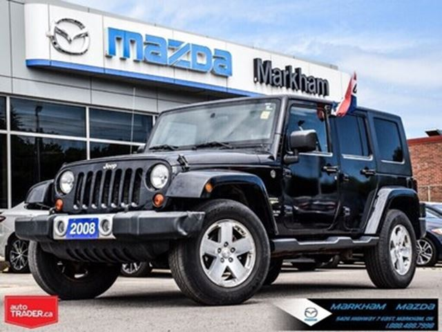 2008 JEEP Wrangler Unlimited Sahara AT AWD Finance Available in Markham, Ontario