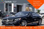 2015 Mercedes-Benz S-Class S 550 AMG.Styling,Sport,Driver.Assist,Light.Pkgs Sunroof  in Thornhill, Ontario