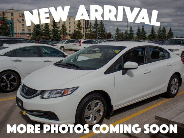 2014 HONDA Civic LX in Winnipeg, Manitoba