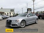 2015 Audi A5 2.0T Progressiv S-LINE  ROOF  LEATHER  NAVI ONL in Ottawa, Ontario