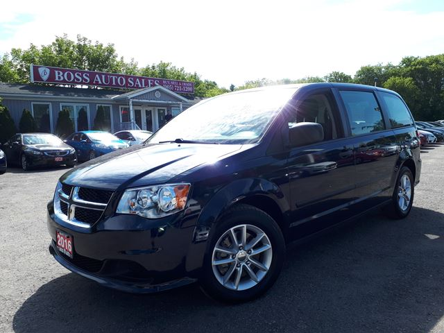 2016 DODGE Grand Caravan Canada Value Package in Oshawa, Ontario