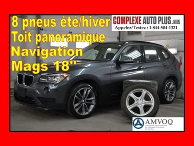 2015 BMW X1 xDrive28i SPORT LINE *GPS, Toit pano. Mags 18po in