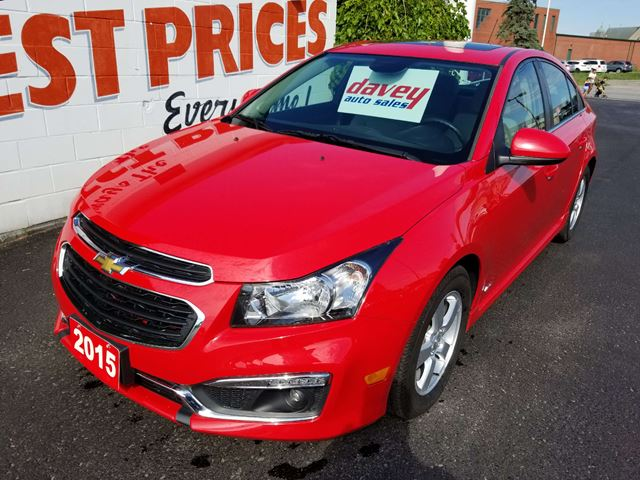 2015 Chevrolet Cruze 1LT SUNROOF, BACK UP CAMERA in