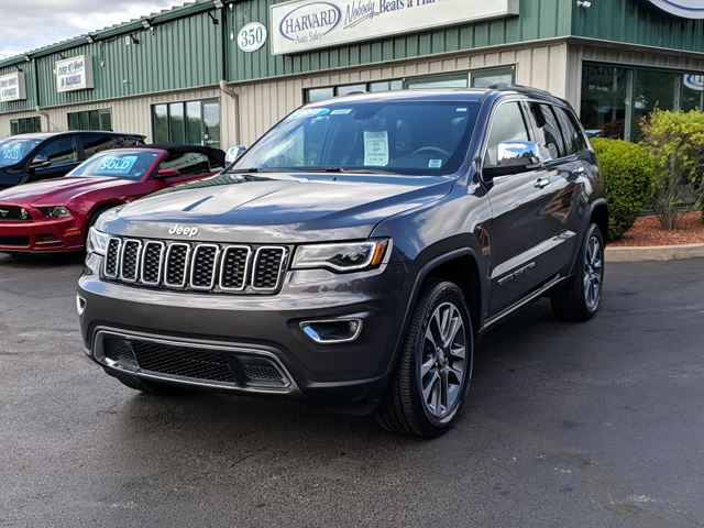 2018 JEEP GRAND CHEROKEE Limited NAVIGATION/PANORAMIC SUNROOF/4X4/REMOTE STARTER/LEATHER/HEATED EVERYTHING in Lower Sackville, Nova Scotia