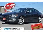 2015 Volvo S60 T5 Drive-E Premier+ LEATHER ROOF REAR CAM LOADED in Ottawa, Ontario