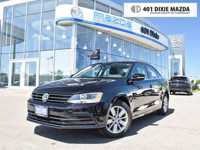2015 VOLKSWAGEN Jetta 2.0L Trendline ONE OWNER NO ACCIDENTS LOW KMS in Mississauga, Ontario