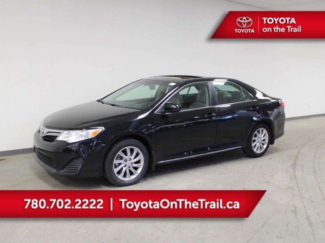 2014 TOYOTA Camry LE VALUE PKG; CAR STARTER, BLUETOOTH, BACKUP CAMERA, CRUISE, AUTOMATIC in Edmonton, Alberta