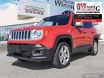 2016 Jeep Renegade 2016 Jeep Renegade - 4WD 4dr Limited in Winnipeg, Manitoba