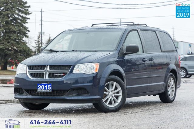 2015 Dodge Grand Caravan SXT DVD R*CAM 1OWNER BLUETOOTH CERTIFIED FINANCING in Toronto, Ontario