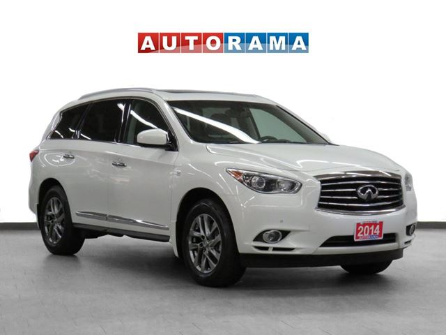 2014 Infiniti QX60 4WD Navigation Leather Sunroof Backup Cam 7Pass in North York, Ontario
