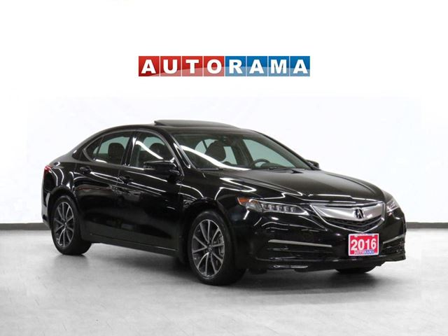 2015 Acura TLX Tech Pkg Navigation Leather Sunroof Backup Cam in North York, Ontario