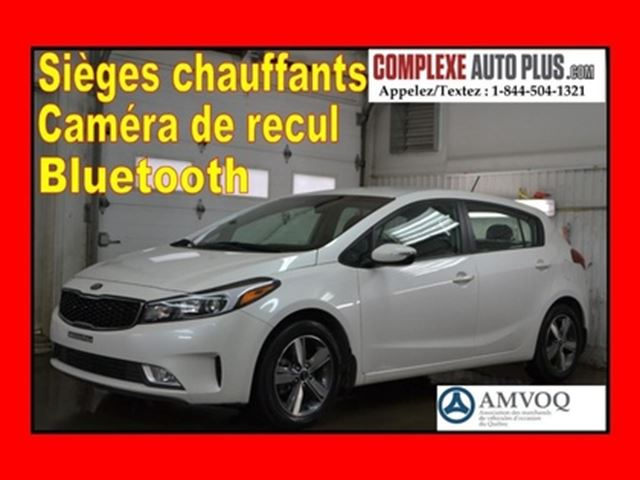 2018 Kia Forte Hayon LX+ *Mags 2 tons, Caméra, Fogs in