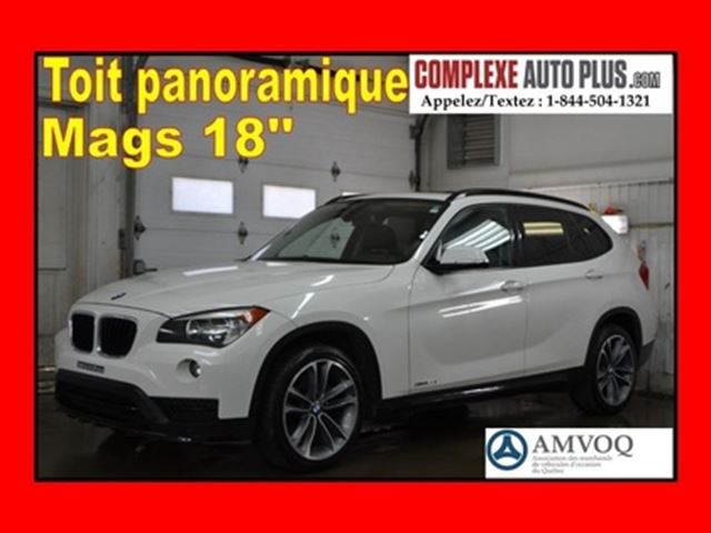 2015 BMW X1 xDrive28i SPORT LINE *Toit pano. Mags 18po in