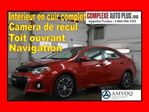 2015 Toyota Corolla S *GPS,Full Cuir,Toit ouvrant,Mags in Saint-Jerome, Quebec