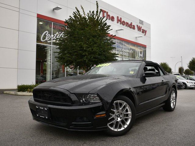 2013 FORD MUSTANG V6 Premium in Abbotsford, British Columbia