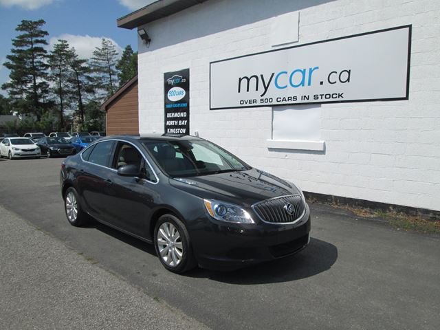 2015 BUICK VERANO BACK UP CAM, LEATHER, ALLOYS!!  in Richmond, Ontario