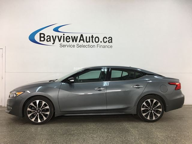 2018 Nissan Maxima SR - HTD/COOLED 1/2 LTHR! ADAPTIVE CRUISE! REMOTE START! ALLOYS! + MORE! in