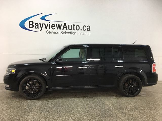 2019 Ford Flex Limited - HTD LEATHER! NAV! SUNROOF! BLK ALLOYS! in