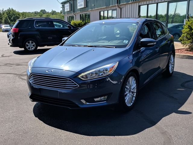 2018 FORD FOCUS Titanium LEATHER/BACK UP CAM/HEATED SEATS/BLUETOOTH/CRUISE in Lower Sackville, Nova Scotia