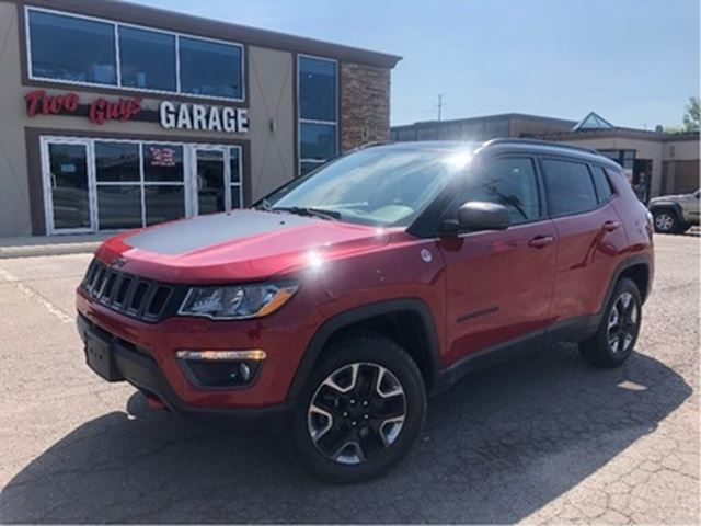 2018 JEEP Compass Trailhawk   Panoroof  Leather   4WD in St Catharines, Ontario