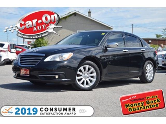 2014 CHRYSLER 200 Limited LEATHER SUNROOF HTD SEATS LOADED in Ottawa, Ontario