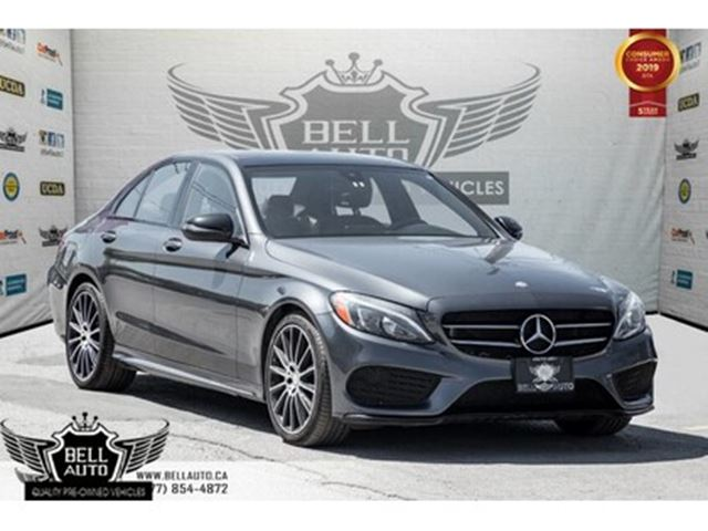2016 MERCEDES-BENZ C-CLASS C 300, 4MATIC, NO ACCIDENT, NAVI, BACK-UP CAM, SUN in Toronto, Ontario