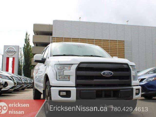 2015 FORD F-150 LARIAT fx4 l 4x4 l Eco-boost l Nav l Roof l Leather in Edmonton, Alberta