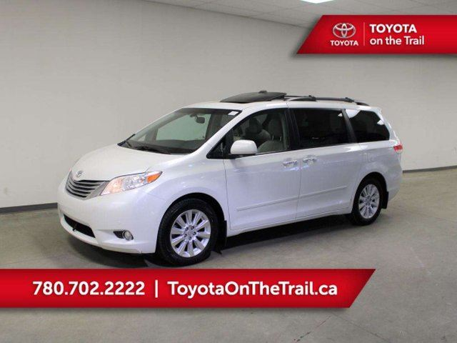 2011 TOYOTA Sienna LIMITED AWD; LEATHER, DVD PLAYER, NAV, JBL, CAR STARTER, BACKUP CAMERA, POWER SLIDING DOORS, HEATED SEATS, TRAILER HITCH in Edmonton, Alberta