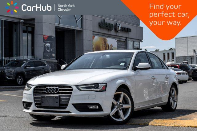 2013 AUDI A4 Premium Plus Heated_FrntSeats Keyless_GO SiriusXM 18Alloys  in Thornhill, Ontario