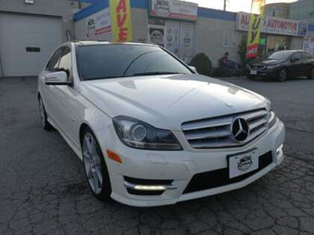 2012 Mercedes-Benz C-Class Accident Free   Navi   Backup Cam   Sunroof   AWD in