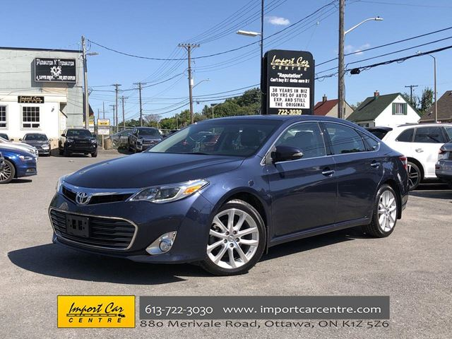 2015 TOYOTA Avalon Limited FULLY LOADED!! LEATHER  ROOF  NAVI!! in Ottawa, Ontario