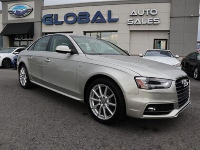 2015 AUDI A4 2.0T Sedan quattro Tiptronic LEATHER NAVI CAM in Ottawa, Ontario