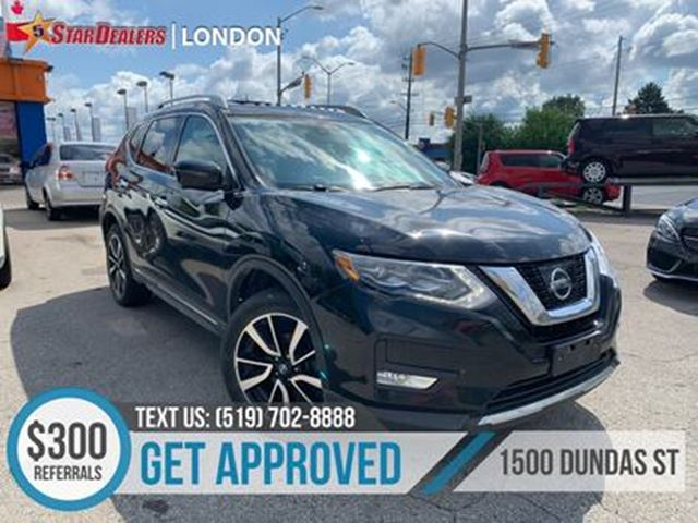 2017 NISSAN ROGUE LEATHER   NAV   PANO ROOF   AWD   CAM in London, Ontario
