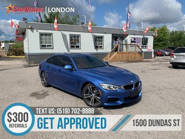 Bmw London Ontario >> 2015 Bmw 4 Series M Package Nav Red Leather Roof Cam