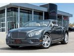 2016 Bentley Continental NAVIGATION BACKUP CAM VENTED SEATS 520HP!! in Mississauga, Ontario