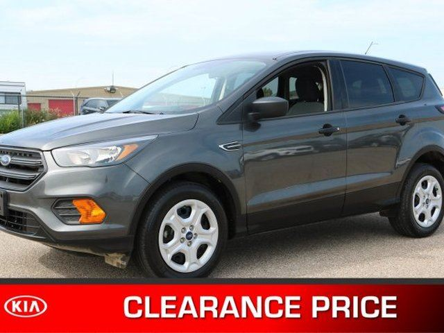 2018 Ford Escape S Accident Free, Back-up Cam, Bluetooth, A/C, - Used Ford Dealer in